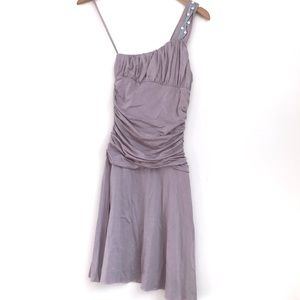 NWT Free People One Shoulder Mauve Jersey Dress